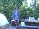 Camping in Tofino. ( I see people everywhere)