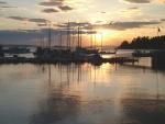 Lund Marina Sunset